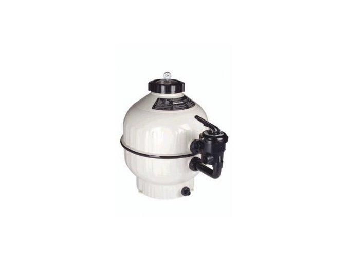 Filtrace Cantabric s bočním ventilem 600, 14m3/h