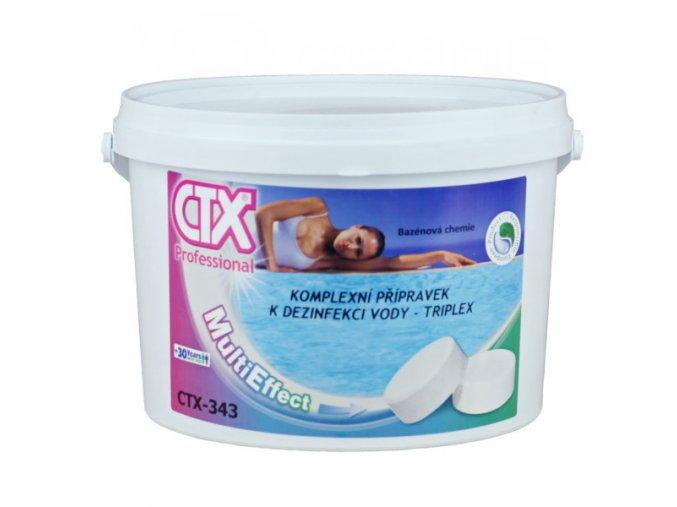 CTX-343 TRIPLEX - 20; 5 kg (chlorové pomalurozpustné 20 g tablety)