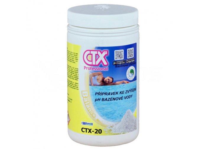 CTX-20; 1 kg (prášek zvyšující pH)