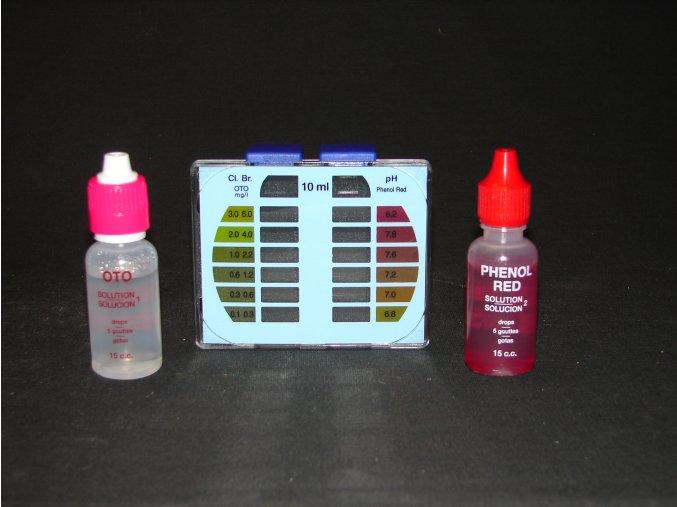 Tester ECO pro měření celkového chloru (bromu) a pH