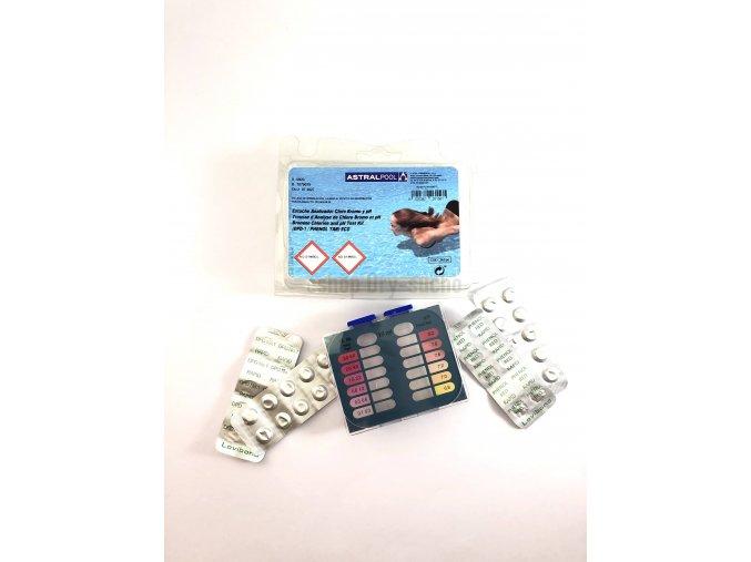 Tester ECO pro měření volného chloru (bromu) a pH