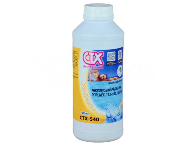 CTX-540; 1l (tekutý mikrobicid)