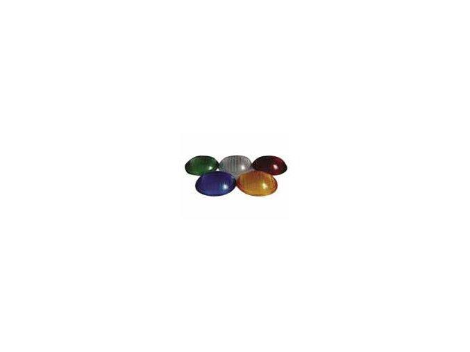 Barevná clona - modrá