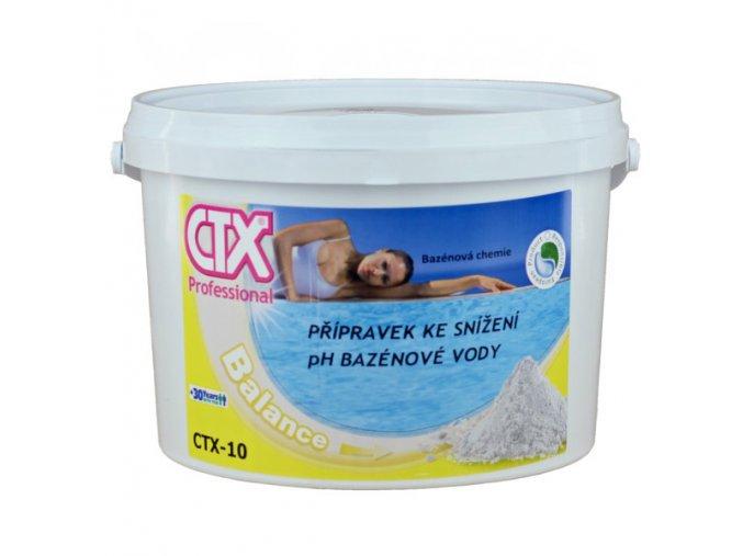CTX-10; 8 kg (granulát snižující pH)