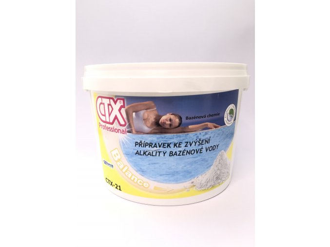 CTX-21; 6 kg (přípravek zvyšující alkalitu vody)