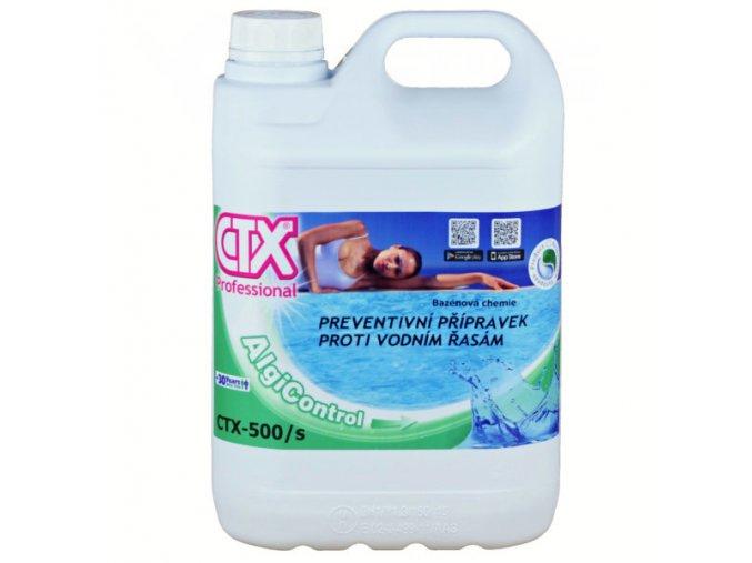 CTX-500/S; 5l (tekutý koncentrovaný algicid)