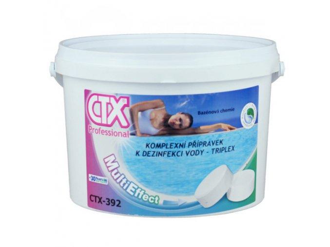 CTX-392 TRIPLEX; 5 kg (chlorové pomalurozpustné 200 g tablety)