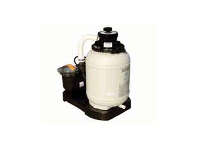 Monoblok s filtrem D 300 a čerpadlem Compact; 4cestný ventil