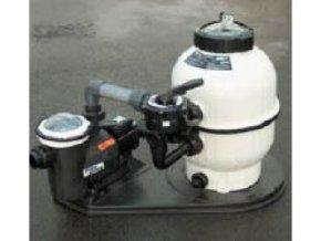 Monoblok Cantabric s bočním ventilem a čerpadlem Victoria Plus 600, 14m3/h