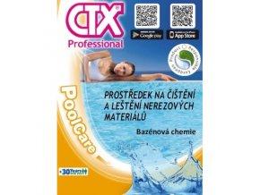 CTX 606 čistič nerezů