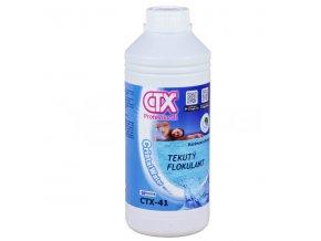 CTX-41; 1 litr (tekutý flokulant)