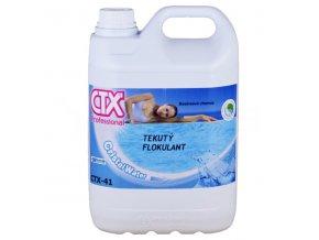 CTX-41; 5 litrů (tekutý flokulant)
