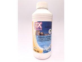 CTX-53; 1 litr (přípravek na čištění a odstranění vápenných usazenin z laminátových bazénu)