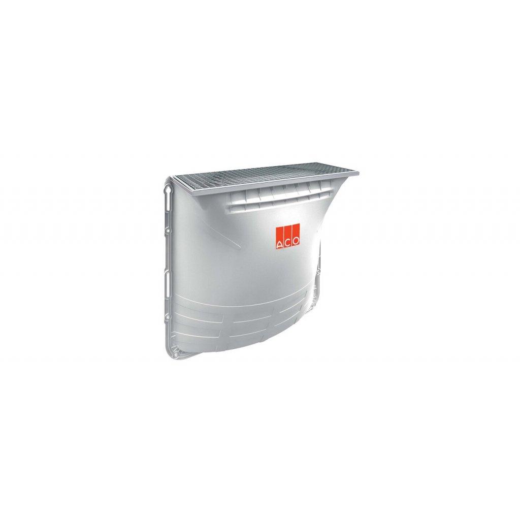 Sklepní světlík ACO Allround; rozměry: 1250 x 1300 x 600 mm