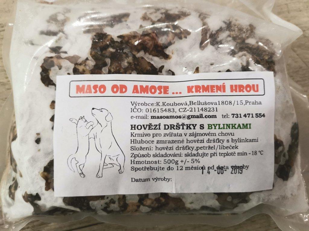 Hovězí dršťky s bylinkami - 500 g
