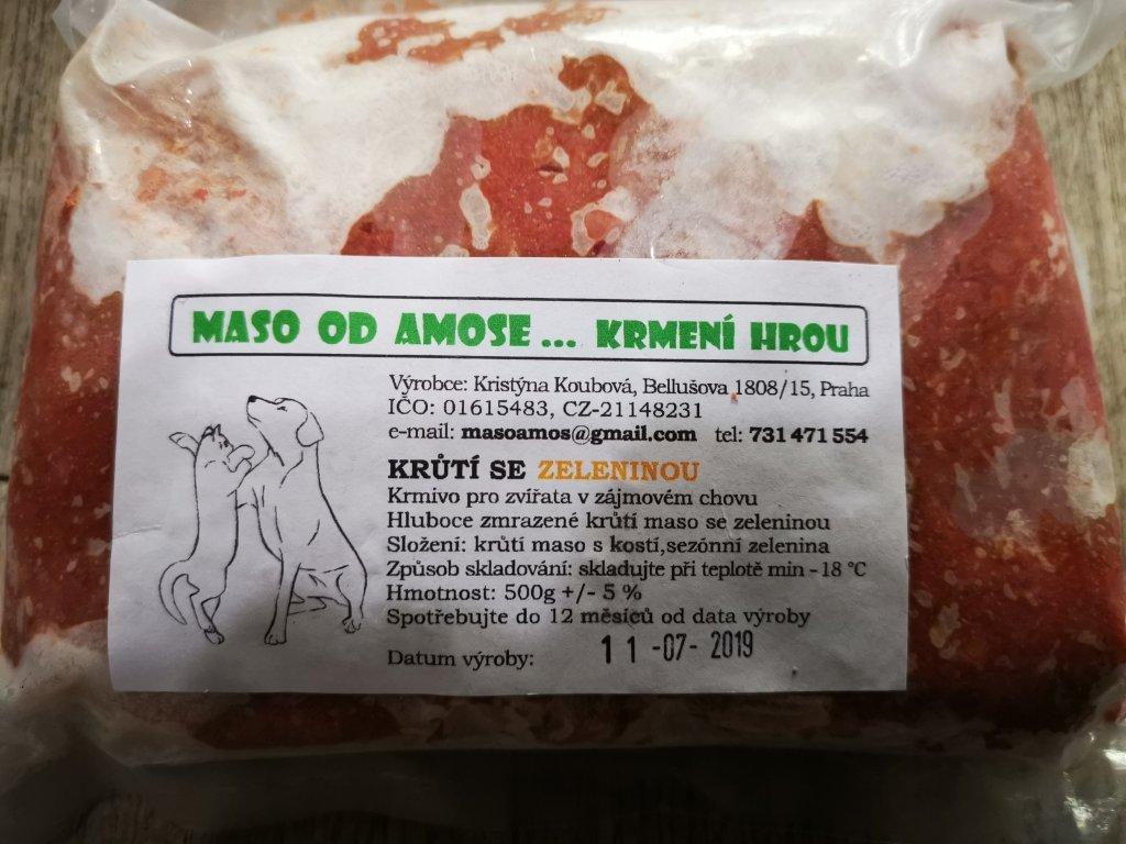 Krůtí maso se zeleninou 500 g