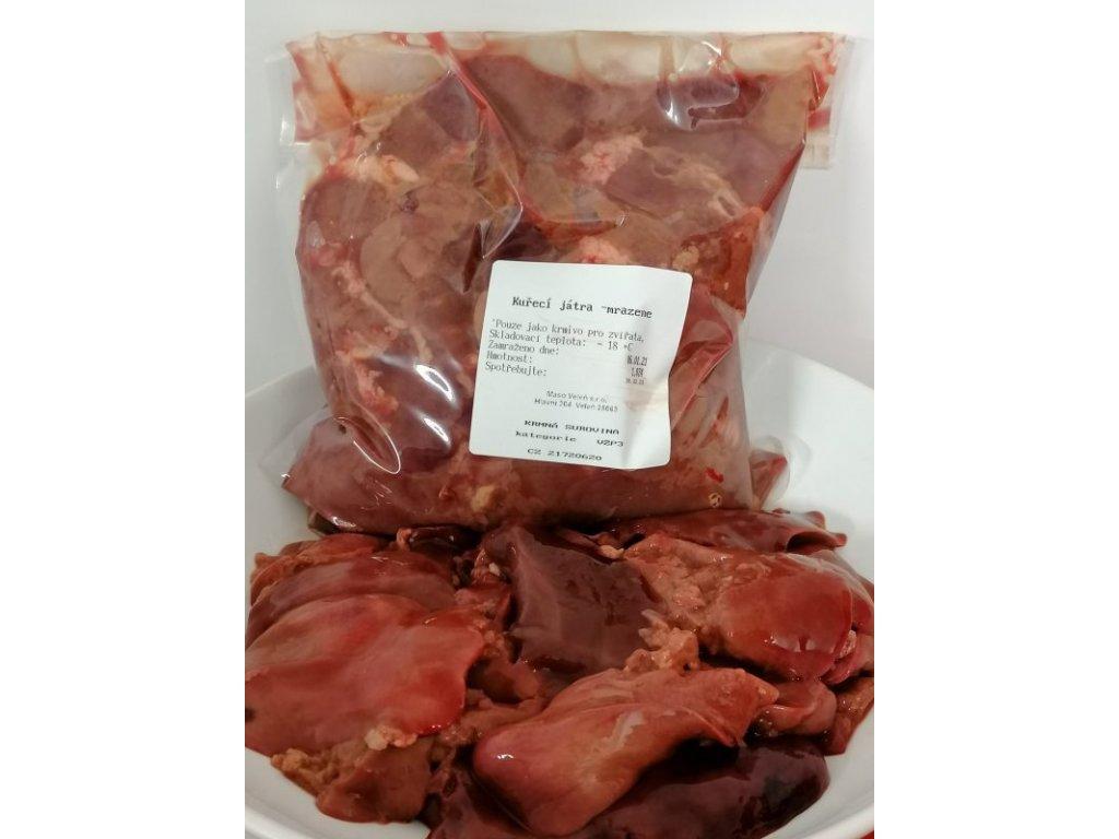 Kuřecí játra - cena za 1 kg