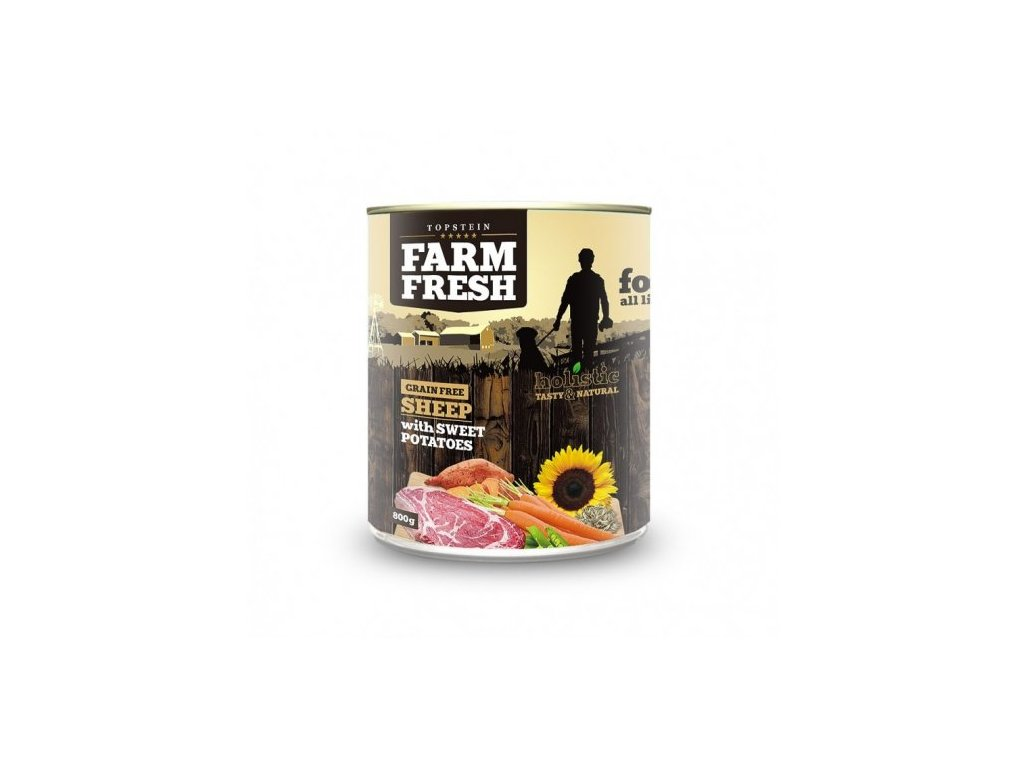 6501 farm fresh sheep with sweet potatoes 800g