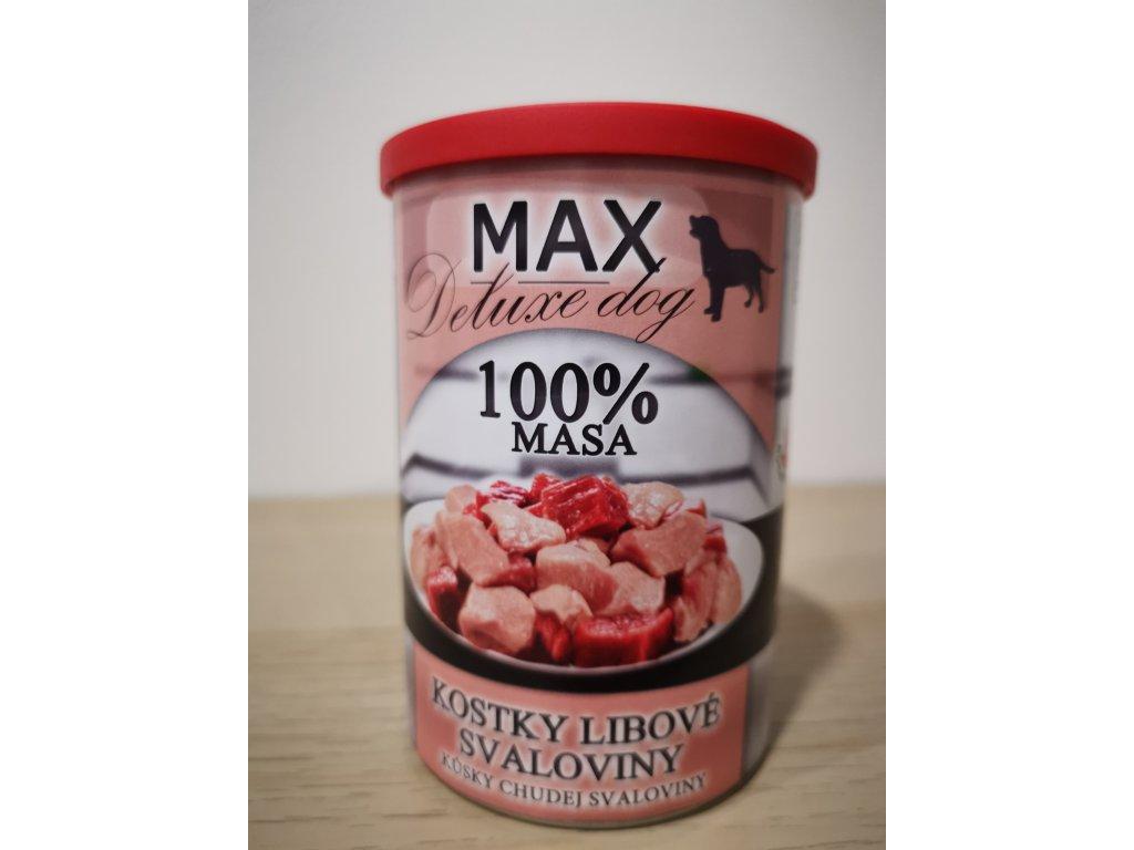 MAX kostky libové svaloviny 400 g