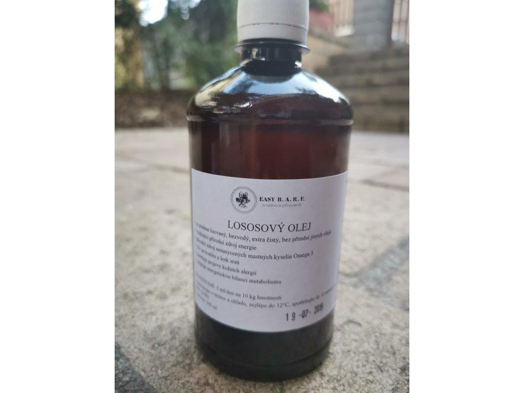 Lososový olej za studena lisovaný 500 ml