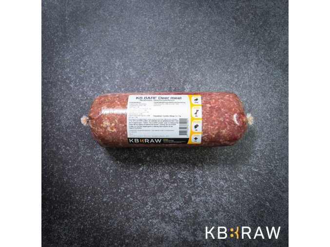 kb barf gemalen hertenvlees