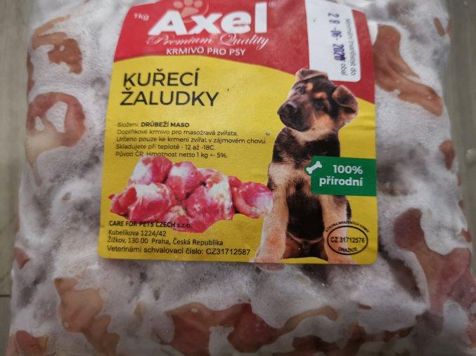 Kuřecí žaludky  1 kg