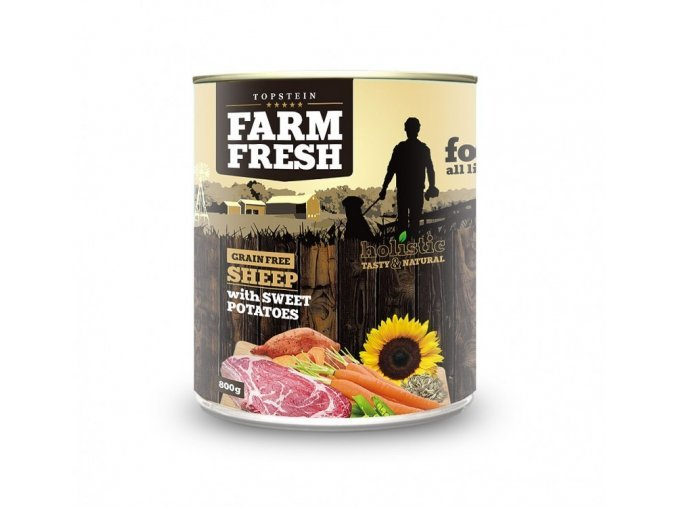 6501 farm fresh sheep with sweet potatoes 800g