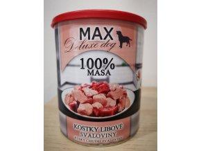 MAX kostky libové svaloviny 800 g