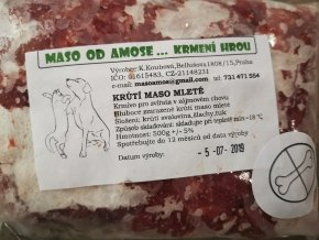 Krůtí mleté maso bez kosti 500 g
