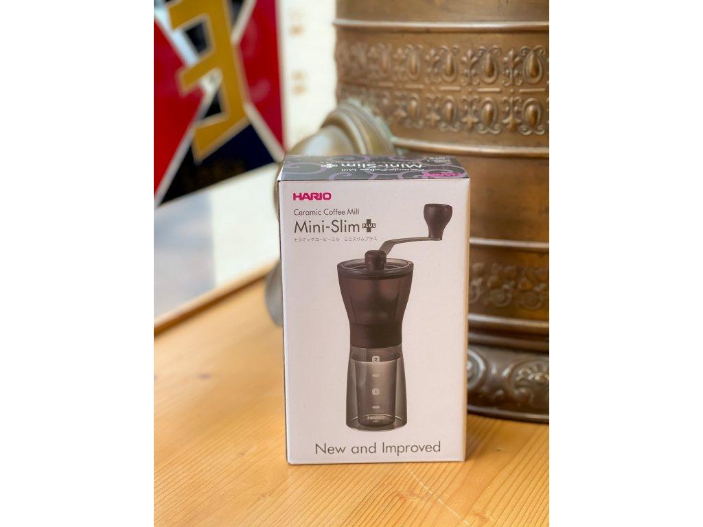 Ruční mlýnek na kávu Hario Mini-Slim Plus