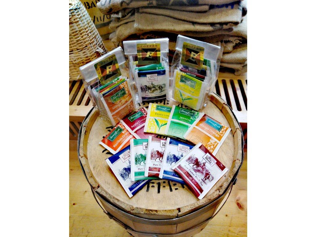 Balíček výběrových čajů (10 sáčků)
