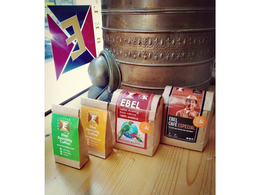 Dárkový balíček 4 nejlepších výběrových káv