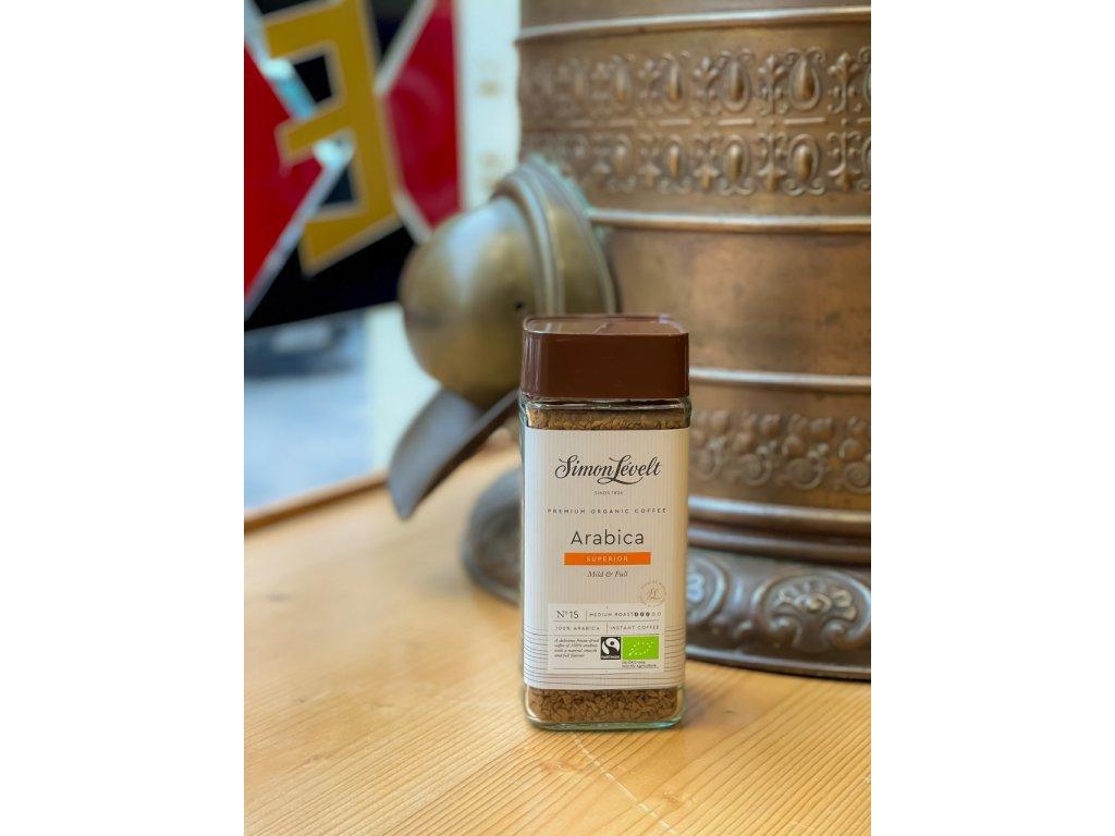 Instantní káva Bio 100% Arabika