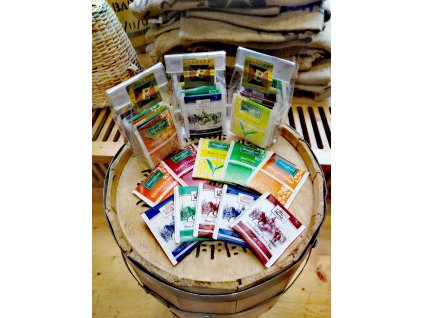 Degustační balíček výběrových čajů (10 sáčků)