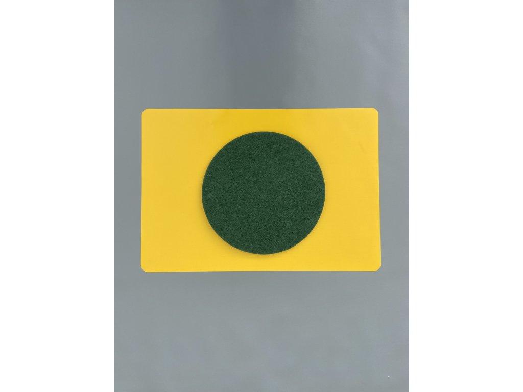 Pad Normal průměr 330mm zelený