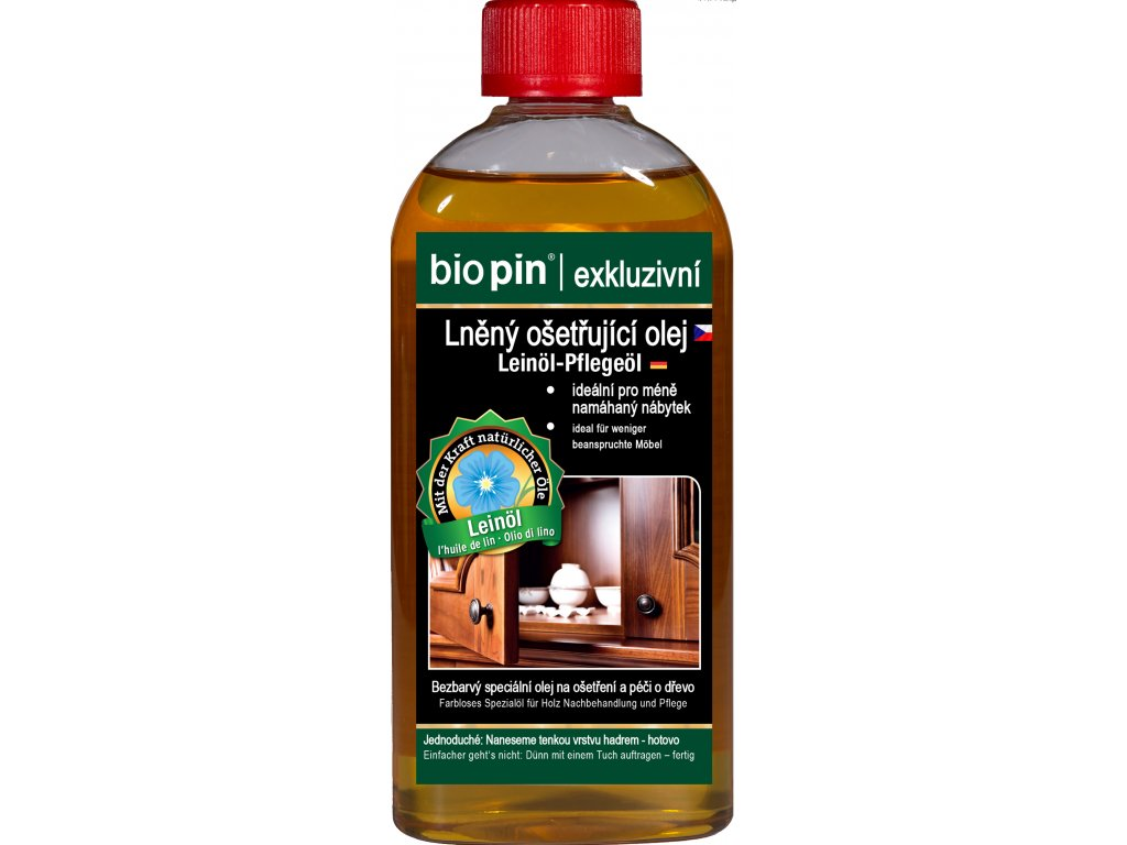 Lneny osetrujici olej