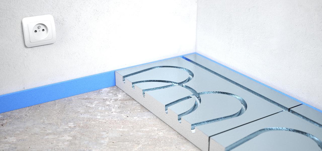 Desky podlahového, stěnového a stropního vytápění
