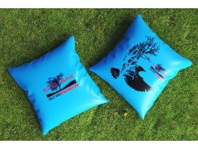 ecowak - outdoorový polštář s potiskem