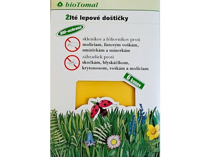 Lepové doštičky na záhradných škodcov