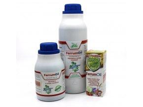 FerrumOil Listové hnojivo s obsahom železa proti škodcom a chorobám