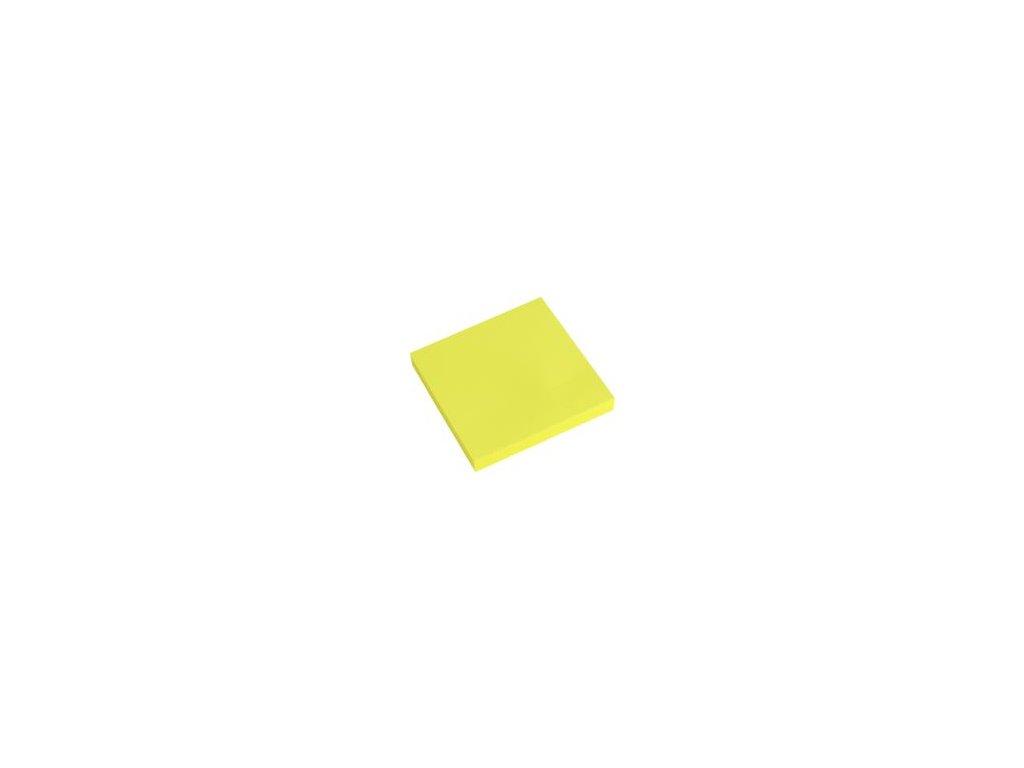 4000 sk blok lep neon zlty 76 x 76 mm php