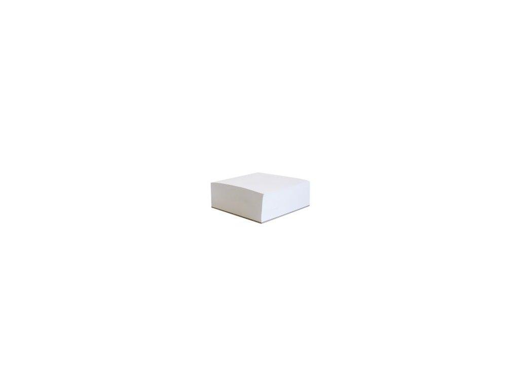 13406 sk blok kocka rovna nelepena biela 9x9x5 cm php
