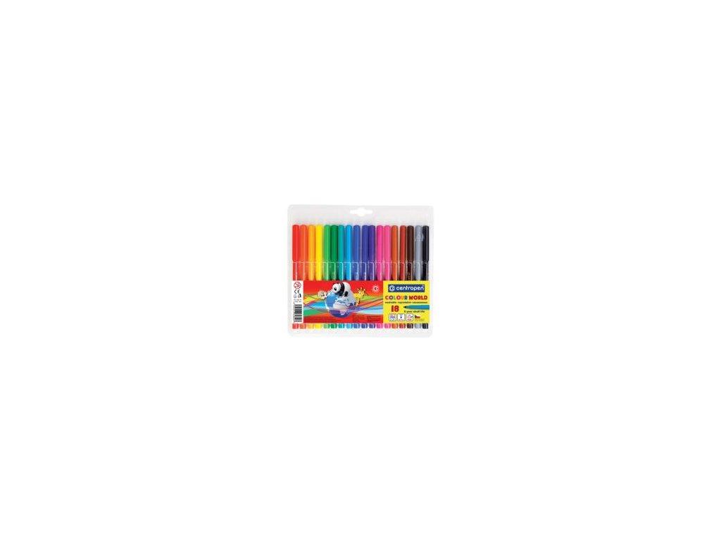 fixy centropen 7550 colour world sada 18 ks