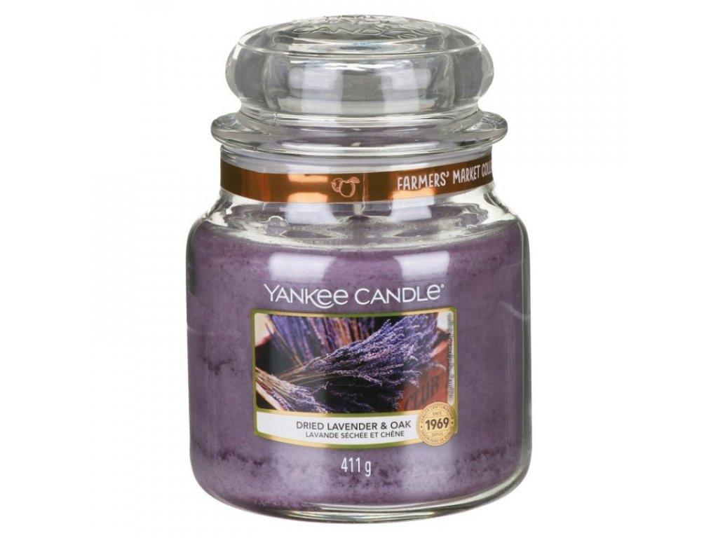 dried lavender oak
