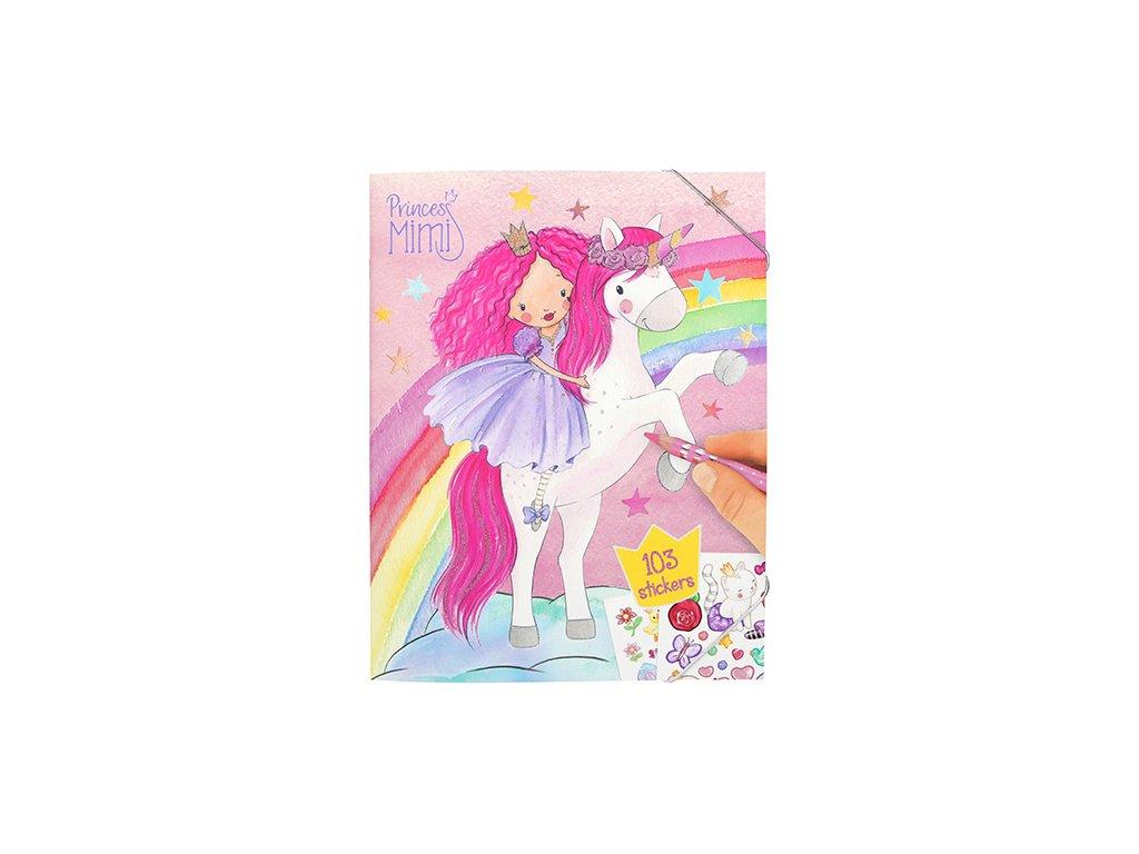 "Omaľovánka Princess Mimi ""Jednorožec"""