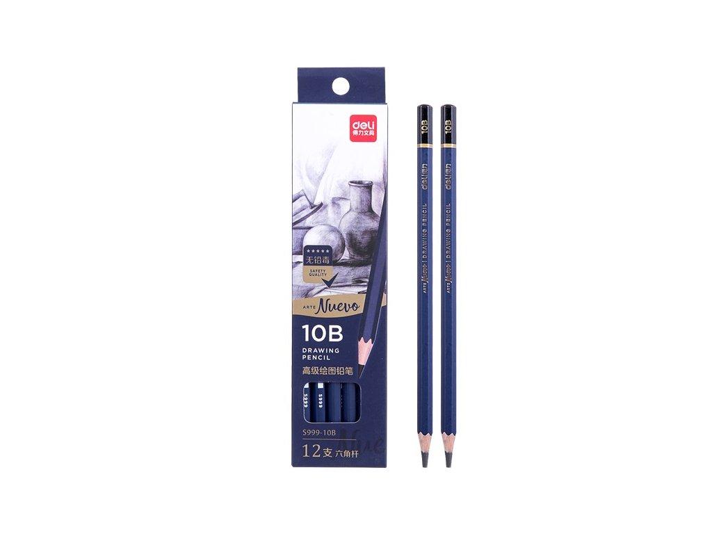Ceruzka grafitová DELI, rôzne tvrdosti, 1ks
