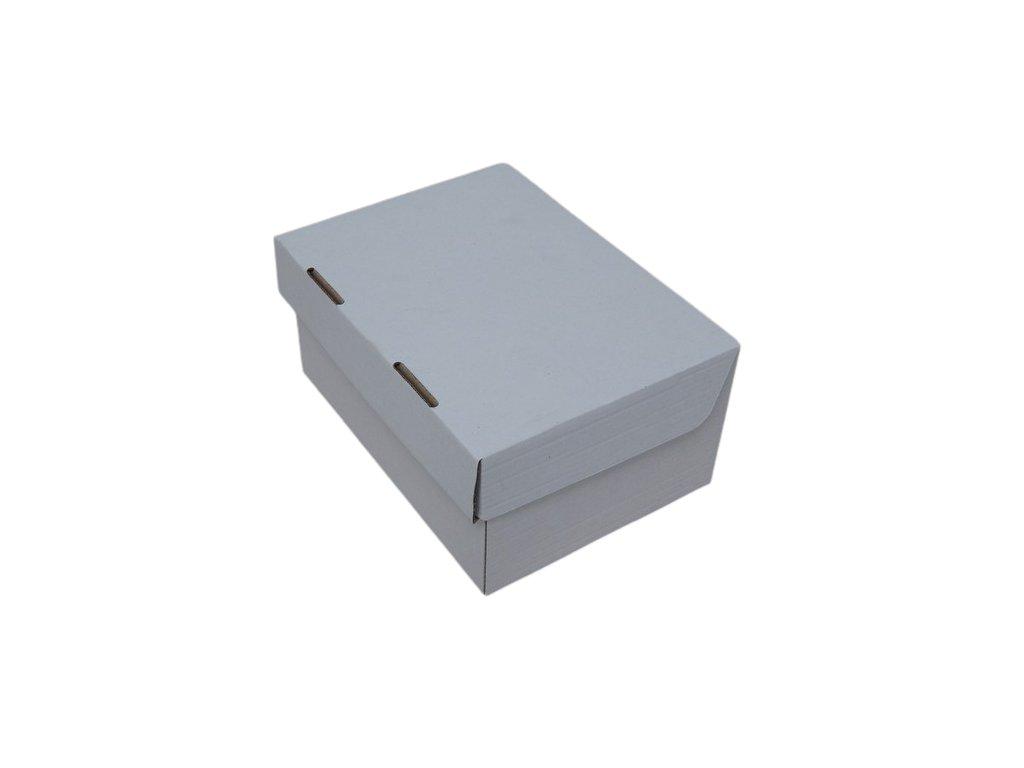"""Zákusková krabica """"hit malý"""", 21x15x10cm, biela, 10ks"""
