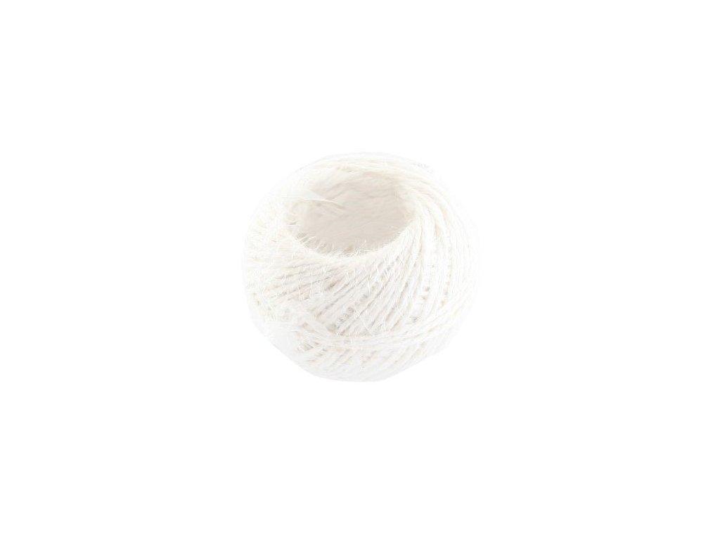 5792 sk motuz lanovy biely 40 g php
