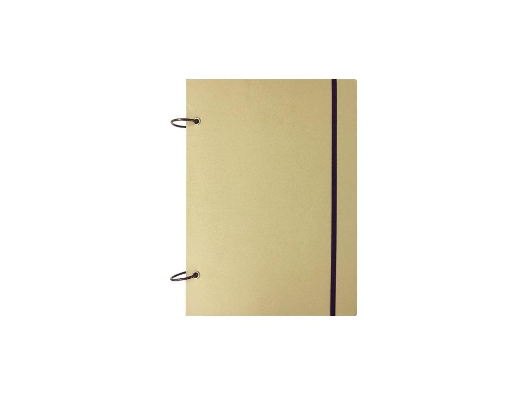 skicovacia kniha a4 58 listov 130 g kruzkova vazba prirodna