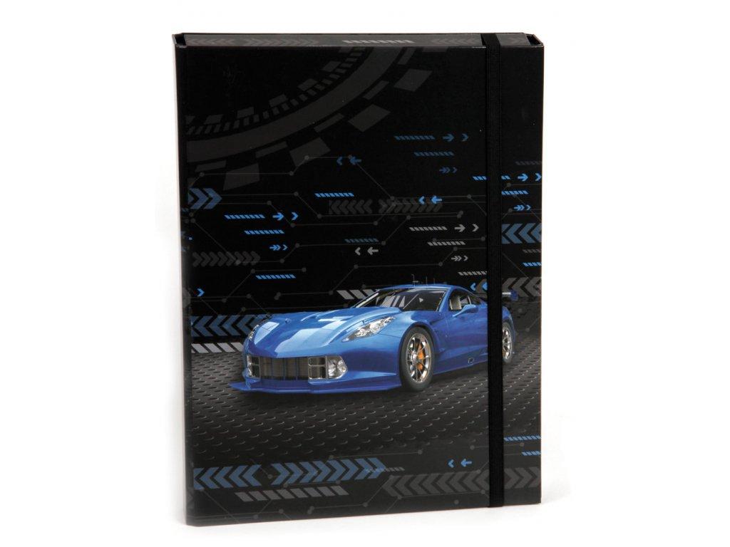 Box na zošity s klopou A4 Best car